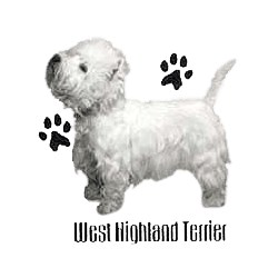 West Highland Terrier T-Shirt - Profiles