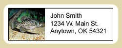 Crappie Address Labels