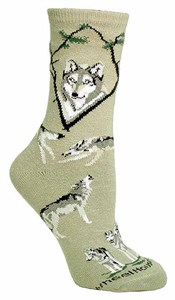 Wolf Socks