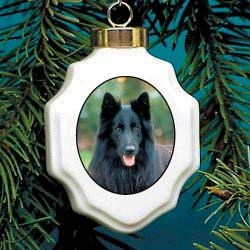 Belgian Sheepdog Ornament