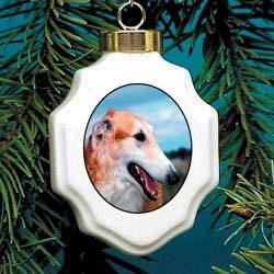 Borzoi Ornament