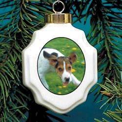 Foxhound Christmas Ornament