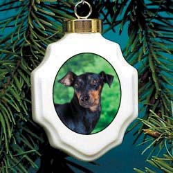 Manchester Terrier Ornament