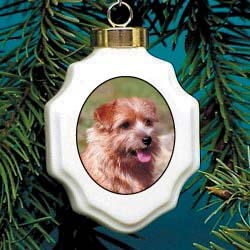 Norfolk Terrier Christmas Ornament