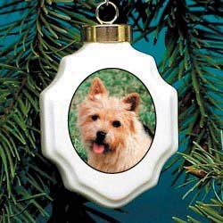 Norwich Terrier Christmas Ornaments