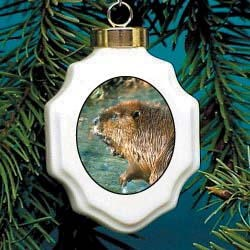 Beaver Ornament
