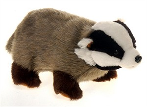Badger Plush