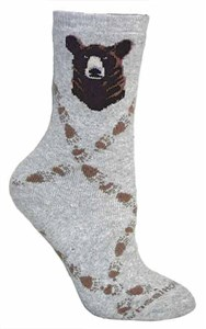 Grizzly Bear Socks