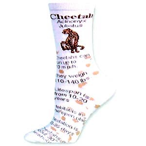 Cheetah Socks