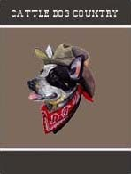 Australian Cattle Dog Garden Flag