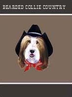 Bearded Collie Garden Flag