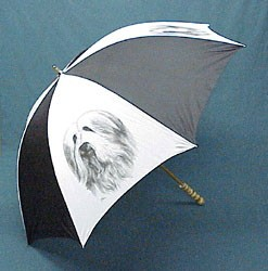Bearded Collie Umbrella
