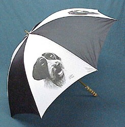 German Wirehaired Pointer Umbrella