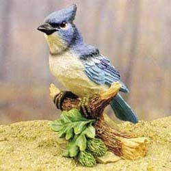 Blue Jay Figurine