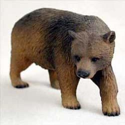 Brown Bear Figurine
