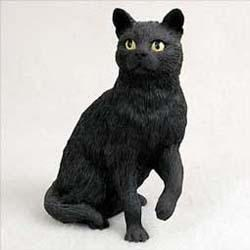 Black Cat Figurine