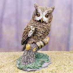Owl Figurine
