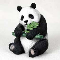Panda Bear Figurine