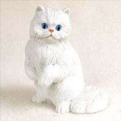 Persian Cat Figurine