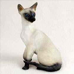 Siamese Cat Figurine
