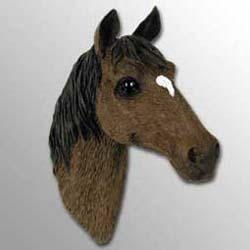 Brown Horse Magnet