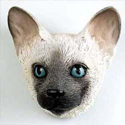 Siamese Cat Magnet
