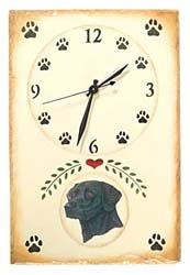 Black Lab Clock