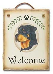 Rottweiler Sign