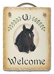 Thoroughbred Horse Sign