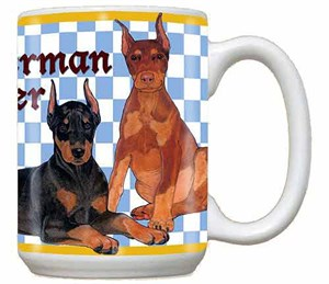 Doberman Pinscher Mug