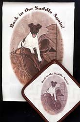 Smooth Fox Terrier Dish Towel & Potholder