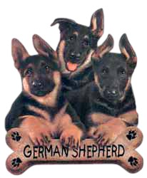 German Shepherd T-Shirt - Trio of Three