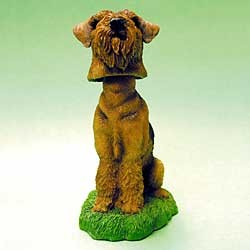 Airedale Terrier Bobble Head