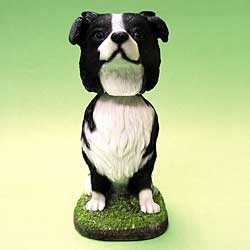 Border Collie Bobble Head