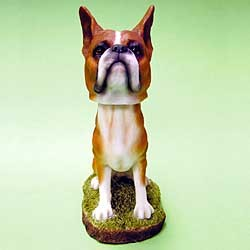 Boxer Bobble Head