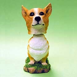 Corgi Bobble Head