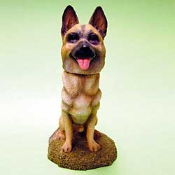 German Shepherd Bobble Head
