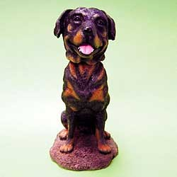 Rottweiler Bobble Head