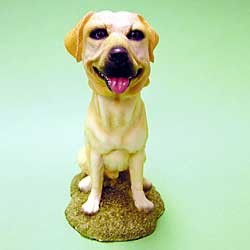 Yellow Lab Bobble Head