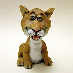 Cougar Bobble Head