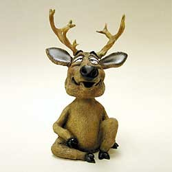 Deer Bobble Head