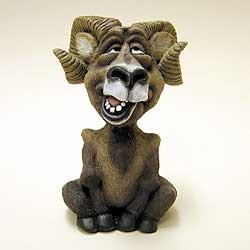 Big Horn Sheep Bobble Head