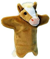 Palomino Horse Puppet