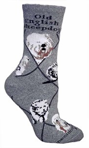 Old English Sheepdog Socks