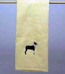 Boston Terrier Hand Towel