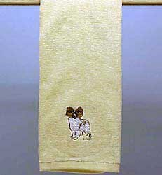 Papillon Hand Towel