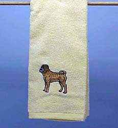 Shar Pei Hand Towel