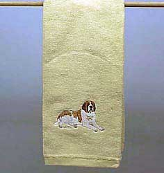 Saint Bernard Hand Towel