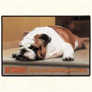 Bulldog Floormat
