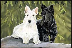 Scottish Terrier Floormat